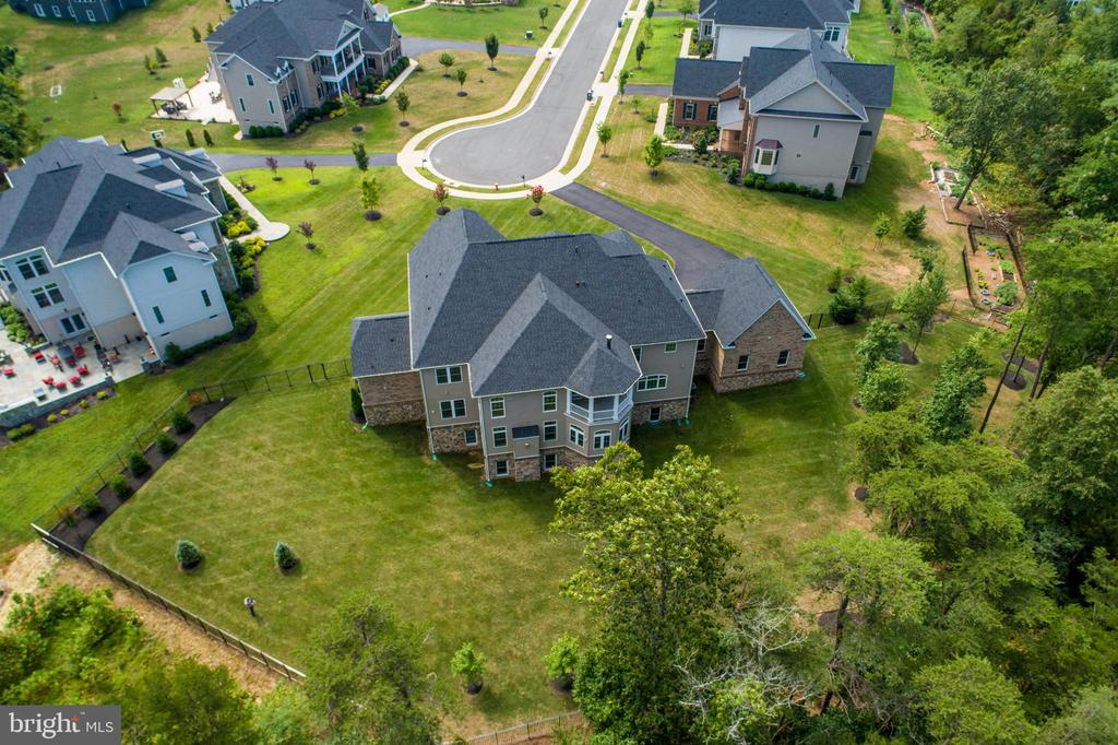 Aerial Rear View - 26479 BARTON PARK CT, CHANTILLY