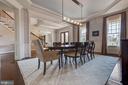 Formal Dining Room - 26479 BARTON PARK CT, CHANTILLY