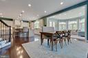 Open Breakfast Room - 26479 BARTON PARK CT, CHANTILLY