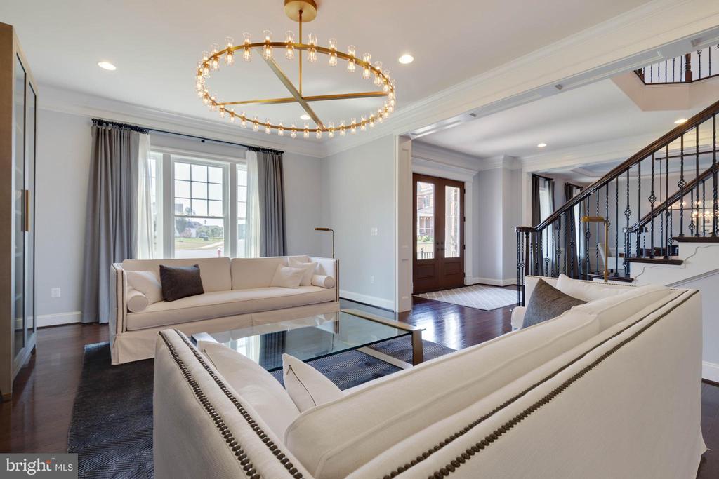 Formal Living Room - 26479 BARTON PARK CT, CHANTILLY