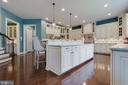 Upgraded Cabinetry with Undermount Lighting - 26479 BARTON PARK CT, CHANTILLY