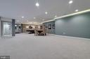 Custom Finished Rec Room - 26479 BARTON PARK CT, CHANTILLY