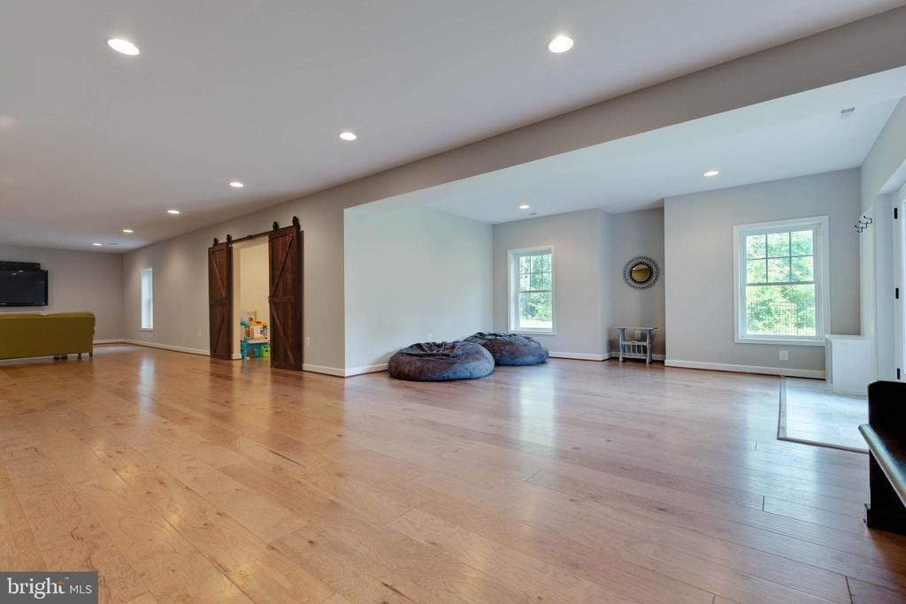3500 Fin. Sq. Ft. Walkout Level Basement - 26479 BARTON PARK CT, CHANTILLY