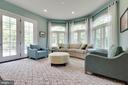 Sun Room with Plenty of Natural Light - 26479 BARTON PARK CT, CHANTILLY