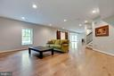 Spacious Rec Room - 26479 BARTON PARK CT, CHANTILLY