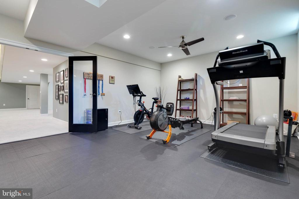Wonderful Exercise Room - 26479 BARTON PARK CT, CHANTILLY