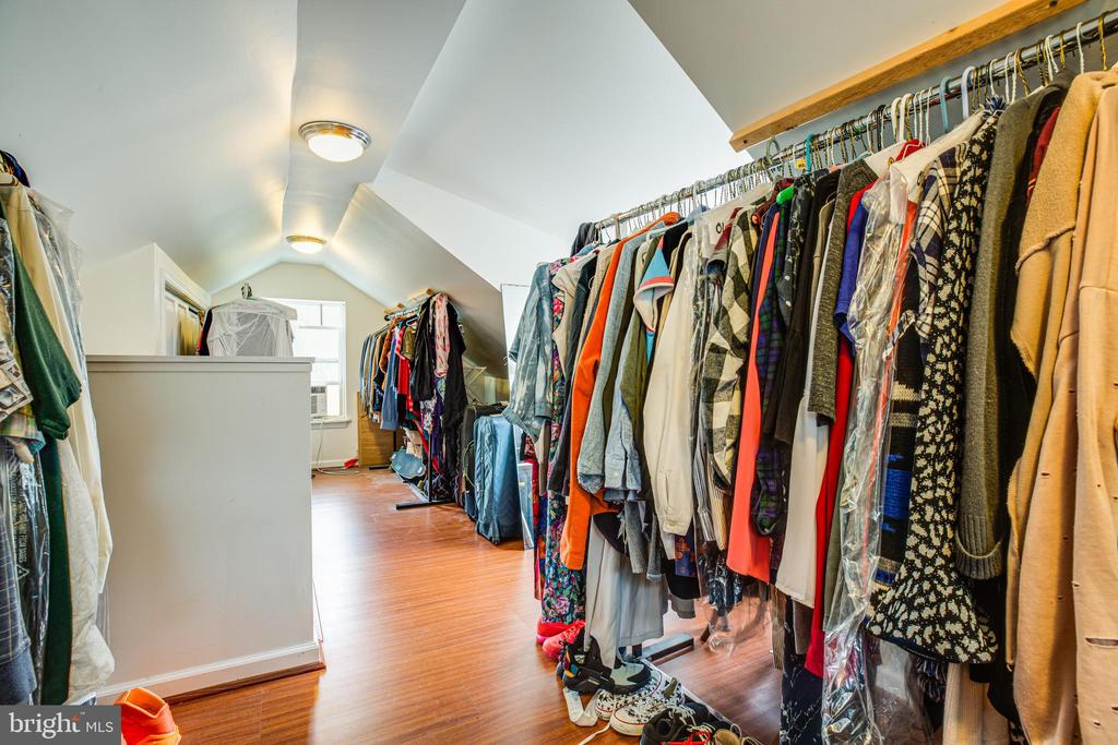Huge walk up closet in the finished attic - 903 BROMPTON ST, FREDERICKSBURG