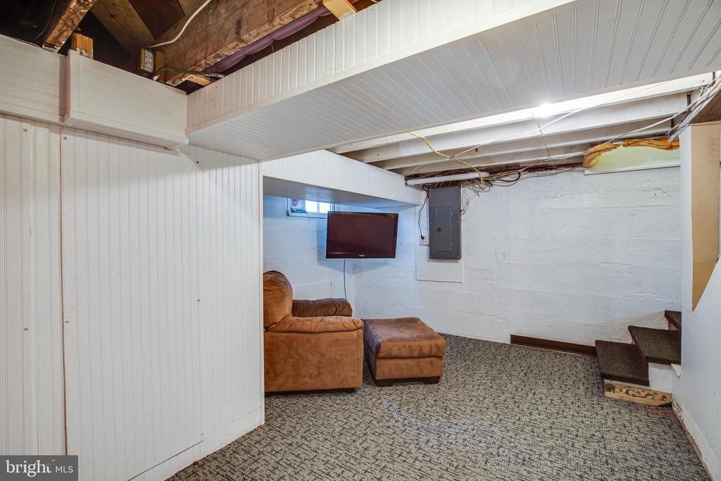 Rec room on lower level - 903 BROMPTON ST, FREDERICKSBURG
