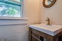 New 1/2 bath on main level - 903 BROMPTON ST, FREDERICKSBURG