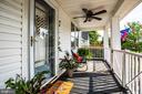 Front porch - 903 BROMPTON ST, FREDERICKSBURG