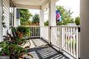 Fabulous front porch - 903 BROMPTON ST, FREDERICKSBURG
