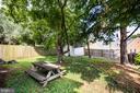 Back yard - 903 BROMPTON ST, FREDERICKSBURG