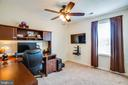 #4 BEDROOM DOUBLES AS AN OFFICE - 10109 BELLEVUE CT, FREDERICKSBURG
