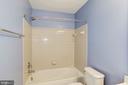 Upstairs Hall Bathroom - 9114 FUREY RD, LORTON