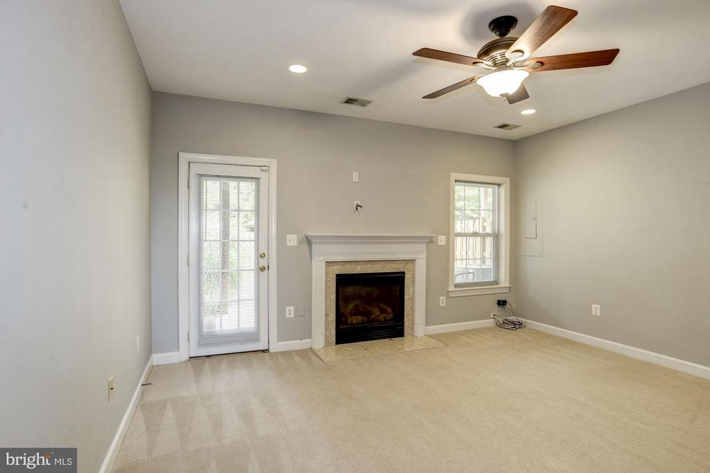 Basement Family Room - 9114 FUREY RD, LORTON