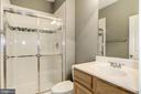 Basement Full Bathroom - 9114 FUREY RD, LORTON