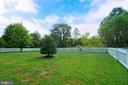 Flat rear yard - 10828 HENRY ABBOTT RD, BRISTOW