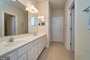 Buddy bath with two sinks - 10828 HENRY ABBOTT RD, BRISTOW
