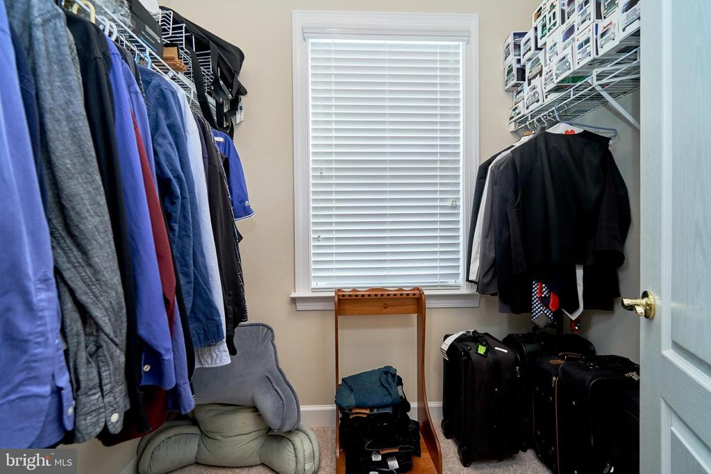 Second of two master closets - 10828 HENRY ABBOTT RD, BRISTOW