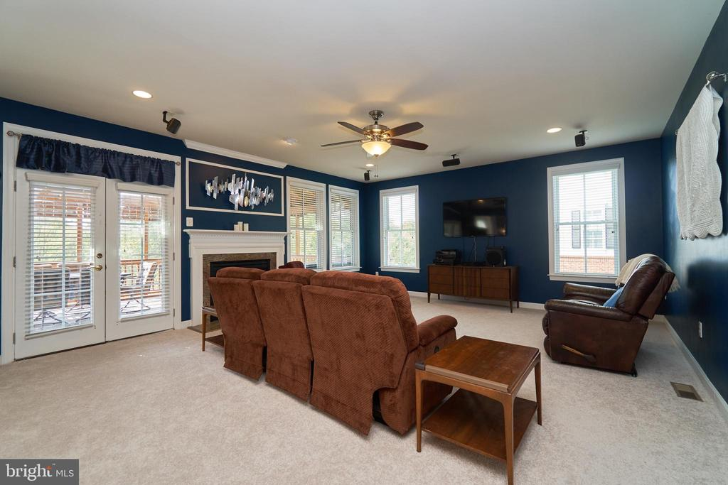 Lighted ceiling fan and access to rear porch - 10828 HENRY ABBOTT RD, BRISTOW