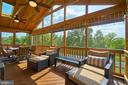 Premium view from the screened porch - 10828 HENRY ABBOTT RD, BRISTOW