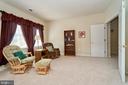 Master bedroom sitting area - 10828 HENRY ABBOTT RD, BRISTOW