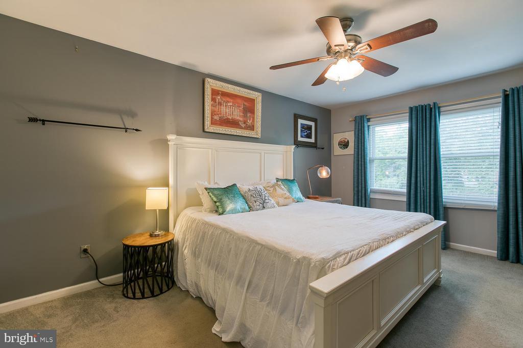 Bright master bedroom - 12 ROSEWOOD ST, FREDERICKSBURG