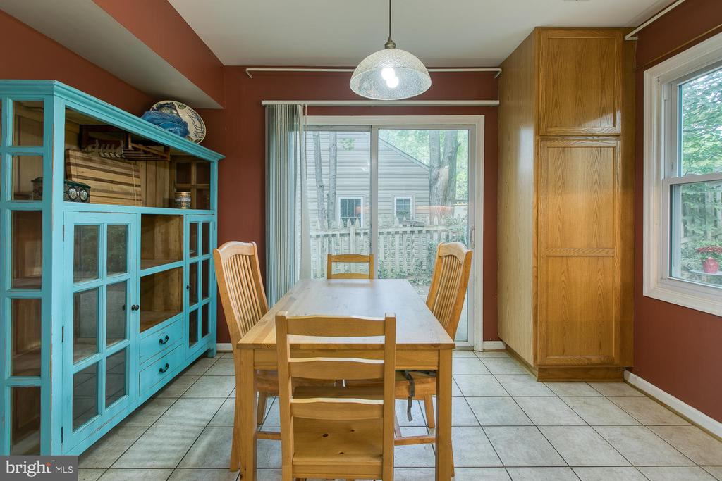Kitchen table space! - 12 ROSEWOOD ST, FREDERICKSBURG
