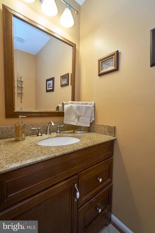 Updated main level powder room - 14515 WILLIAM CARR LN, CENTREVILLE