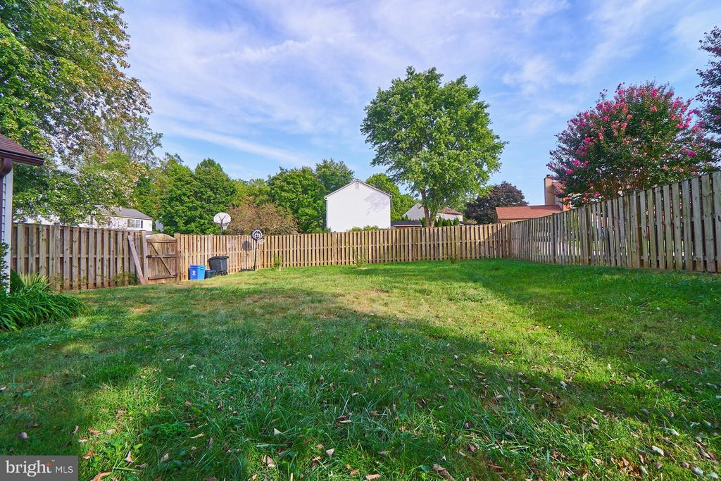 Rear  yard - 14515 WILLIAM CARR LN, CENTREVILLE