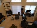 Lower level family room with fireplace - 1524 ARTILLERY TER NE, LEESBURG