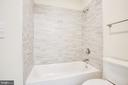 Hall Full Bath - 210 FAIRFAX LN, LOCUST GROVE