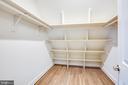 Bedroom #4 walk in closet - 210 FAIRFAX LN, LOCUST GROVE