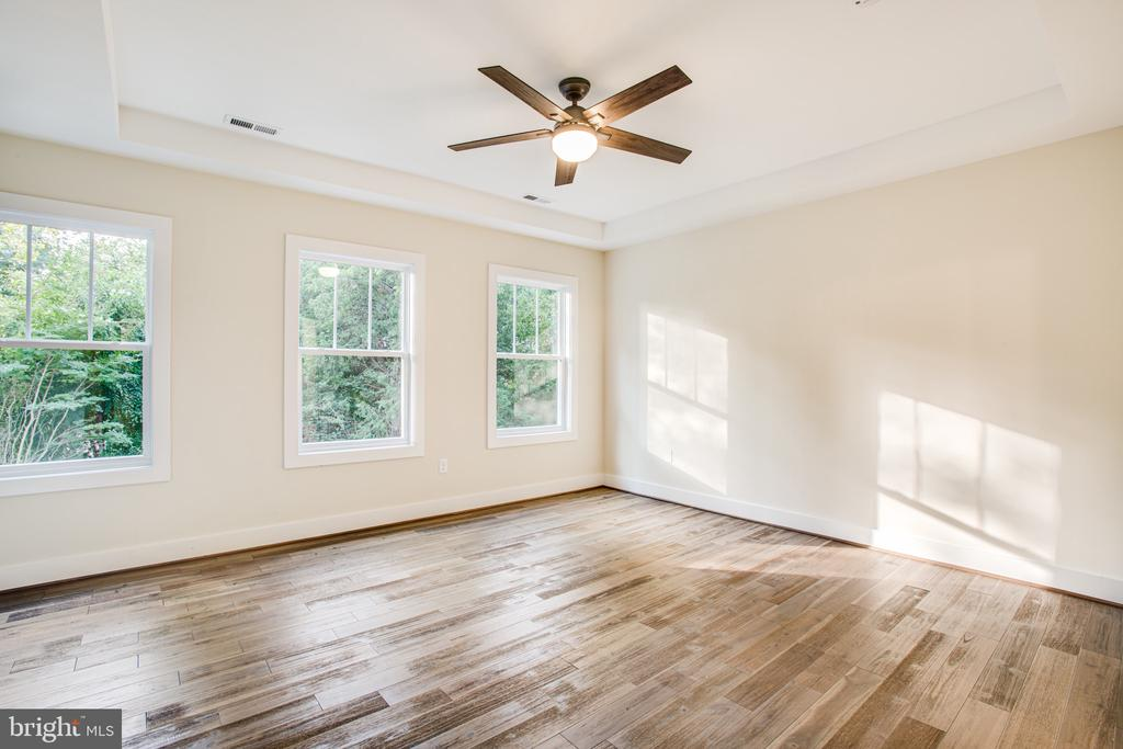 Master Bedroom with tray ceiling - 210 FAIRFAX LN, LOCUST GROVE
