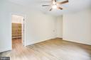 Bedroom #4 with walk in closet - 210 FAIRFAX LN, LOCUST GROVE