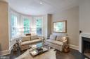 Living Room - 3030 Q ST NW, WASHINGTON