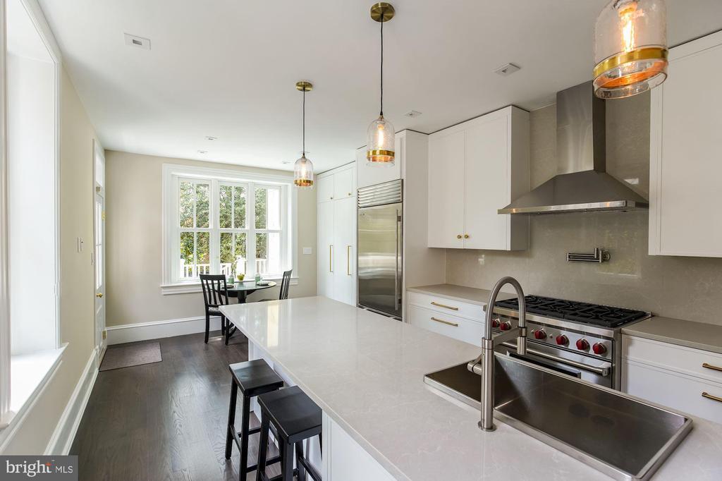 Kitchen - 3030 Q ST NW, WASHINGTON