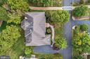 Aerial View w/ Golf Path - 43546 FIRESTONE PL, LEESBURG