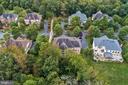 Aerial of Street - 43546 FIRESTONE PL, LEESBURG
