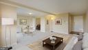 Living Area and Entry Foyer - 10201 GROSVENOR PL #818, NORTH BETHESDA