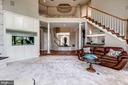 View of the Rear Staircase - 43546 FIRESTONE PL, LEESBURG