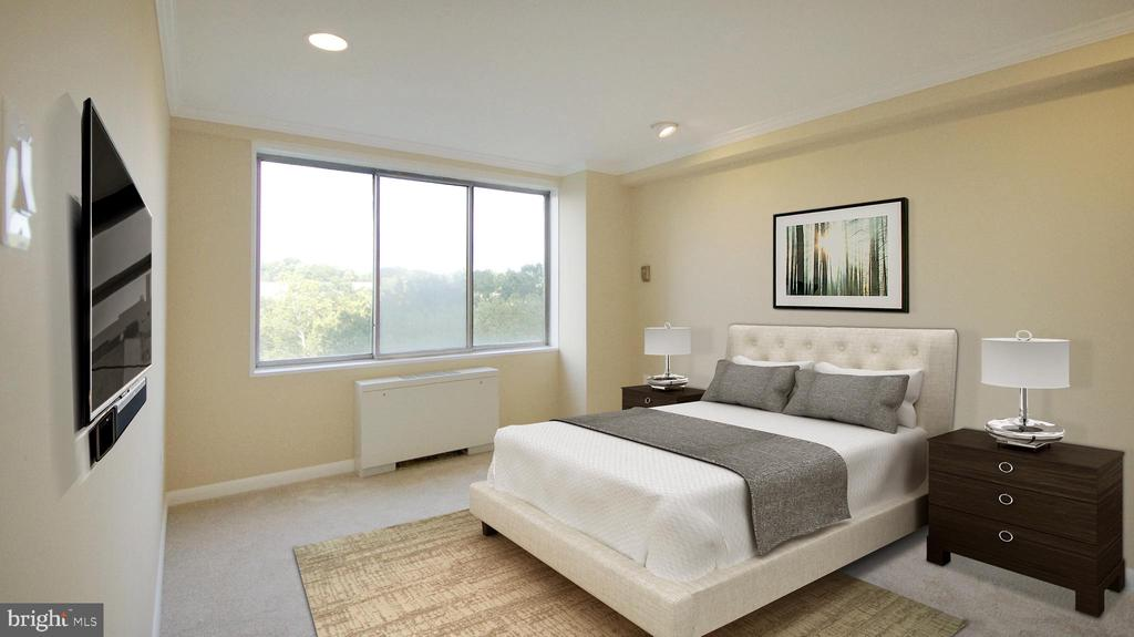 Bedroom 2 or Den - 10201 GROSVENOR PL #818, NORTH BETHESDA