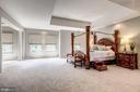 Master Suite w/ sitting area - 43546 FIRESTONE PL, LEESBURG