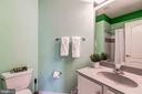 Full Bath Attached to Bedroom #2 - 43546 FIRESTONE PL, LEESBURG