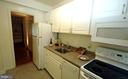 Kitchen - 316 ASHBY ST #D, ALEXANDRIA