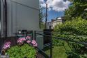 Deck off Kitchen - 1418 33RD ST NW, WASHINGTON