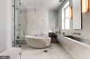 Master Bathroom - 1418 33RD ST NW, WASHINGTON