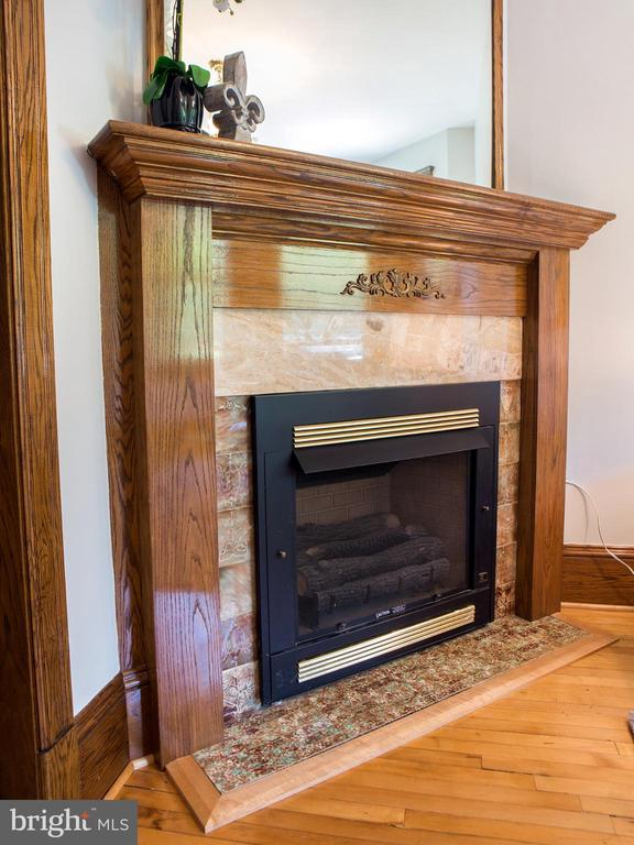 Gracious Living Room Gas Fireplace - 140 12TH ST NE, WASHINGTON