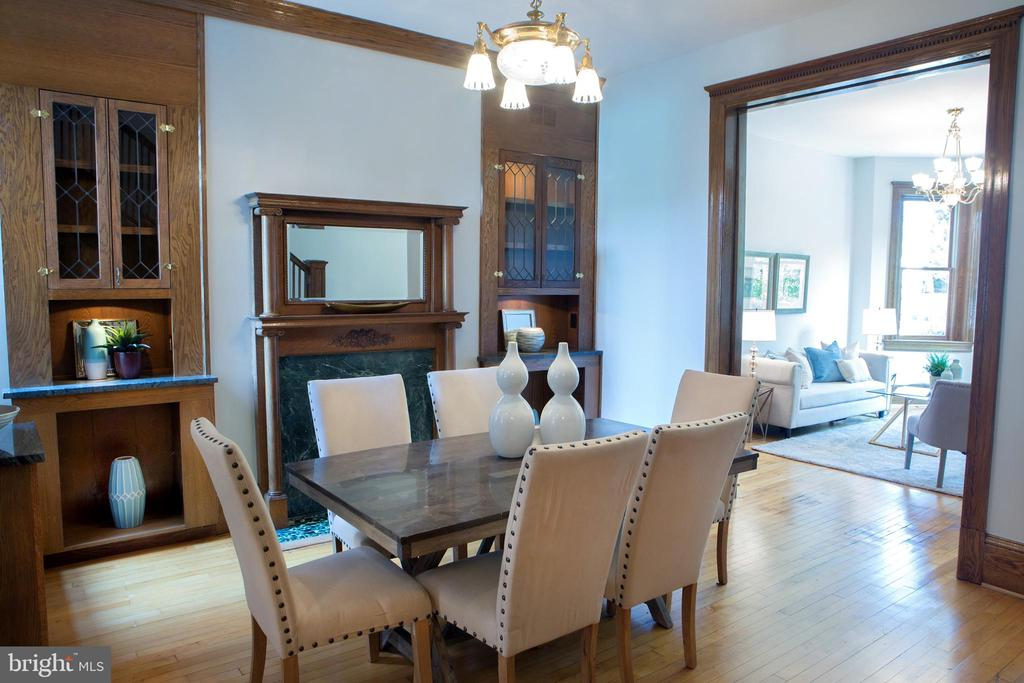 Elegant Dining Room Northeast - 140 12TH ST NE, WASHINGTON