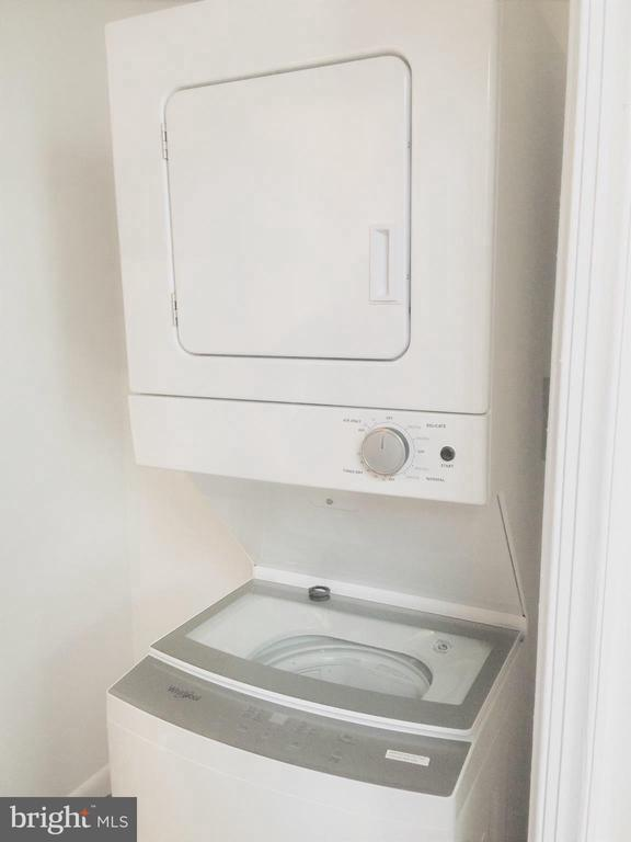 Brand new Whirlpool stackable. - 718 F ST NE, WASHINGTON